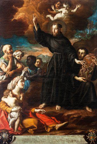 Dipinto del Beato Corrado Miliani