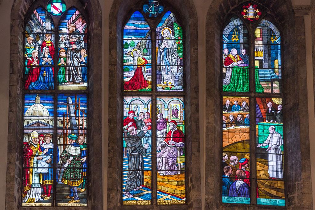 Vetrate della Chiesa di San Francesco