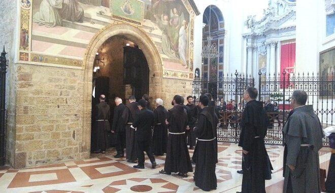 Frati alla Porziuncola (Santa Maria degli Angeli)